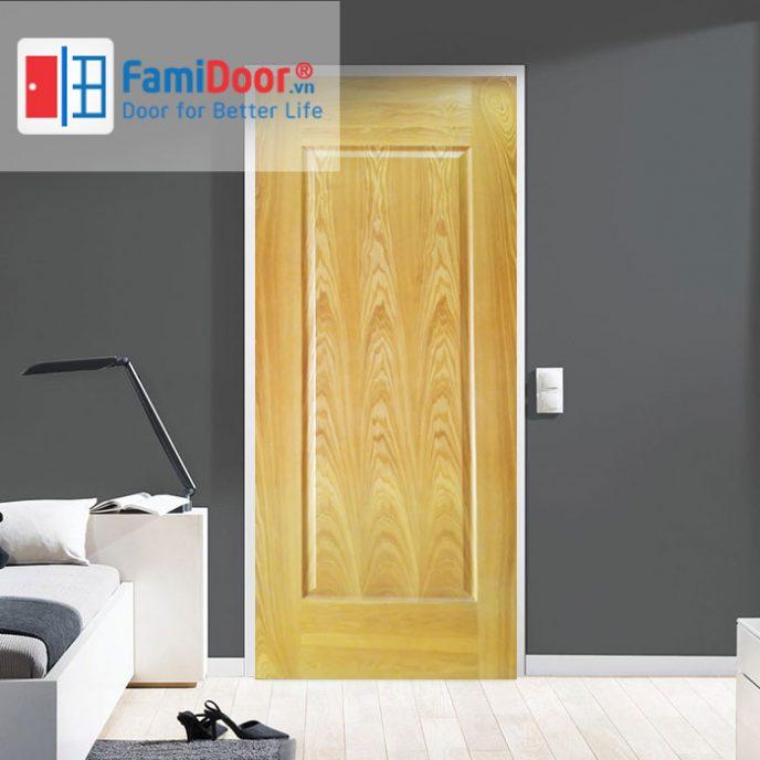 Cửa gỗ HDF veneer 1B-Oak